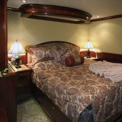 Far From It Yacht Stateroom