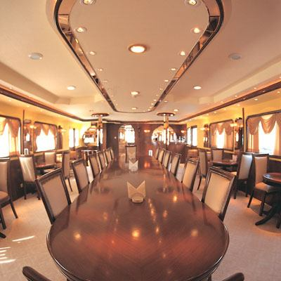 Golden Head Yacht Dining Salon