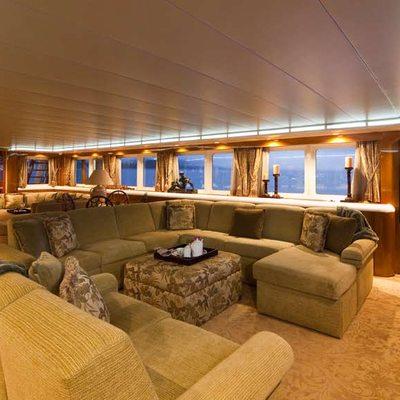 Big Eagle Yacht Main Salon - Seating