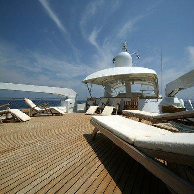 India Yacht Sundeck Loungers