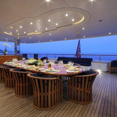 Capri I Yacht Dining - Evening