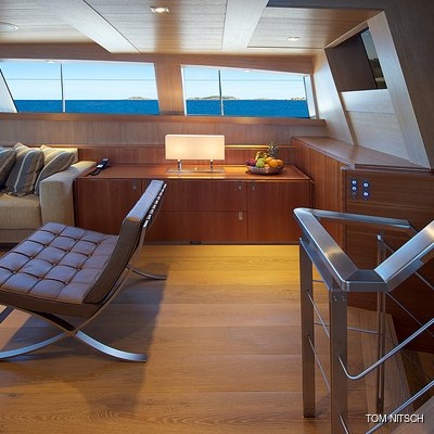 Sharlou Yacht Upper Saloon - Stairs