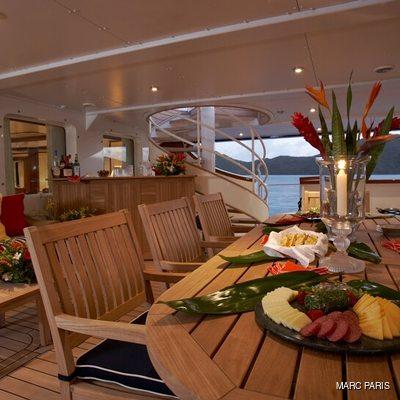 Seawolf Yacht Aft Deck