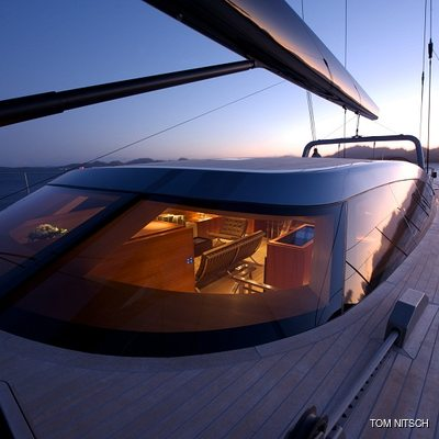 Sharlou Yacht Deck by Night