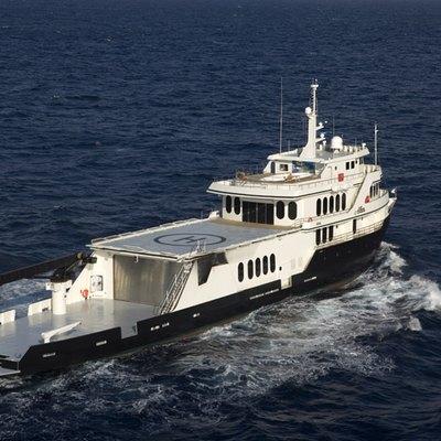 Global Yacht Running Shot - Rear View
