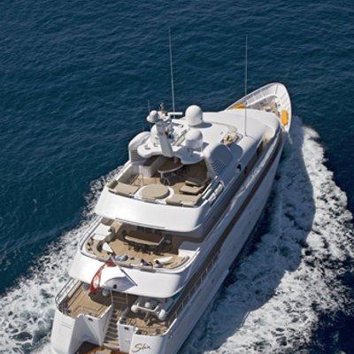 Solaia Yacht Running Shot - Rear View