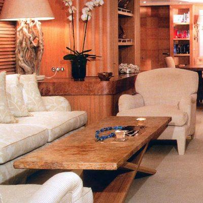 Alexandra Yacht Salon - Seating