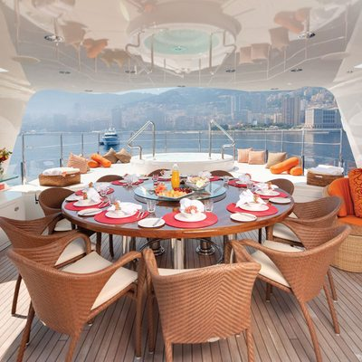 Northlander Yacht Alfresco Dining Table