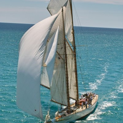 Sunshine Yacht Aerial View