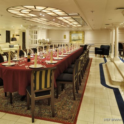 Christina O Yacht The Dining Room