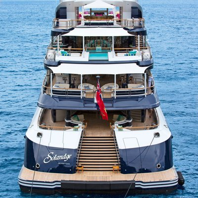Solandge Yacht Aft Deck By Day