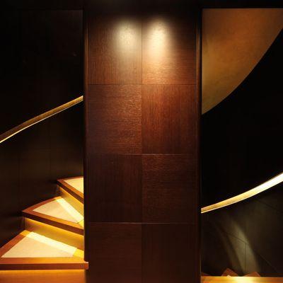 Zaliv III Yacht Staircase