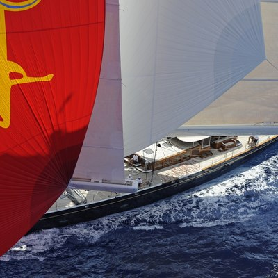 Athos Yacht Close Profile