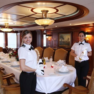 Nomad Yacht Formal Dining