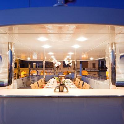 Golden Horn Yacht Alfresco Dining