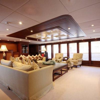 Nomad Yacht Upper Salon