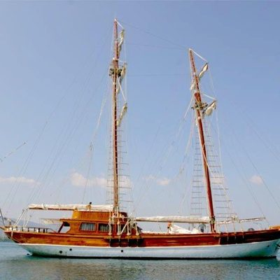 Matina Yacht Side View