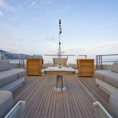 Escape II Yacht Sun deck