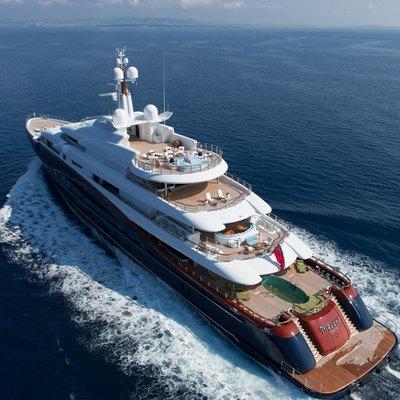 NIRVANA Yacht Charter Price - Oceanco Luxury Yacht Charter