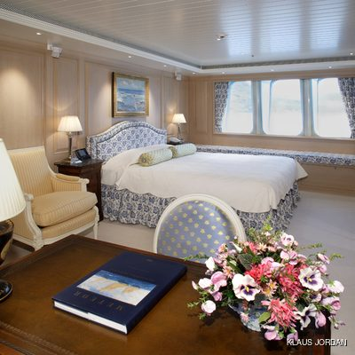 Huntress Yacht Guest Stateroom
