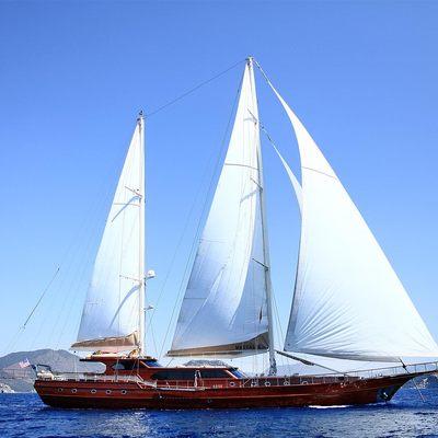 Mezcal 2 Yacht At Sail