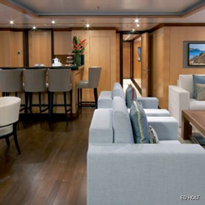Andreas L Yacht Upper Salon - Close