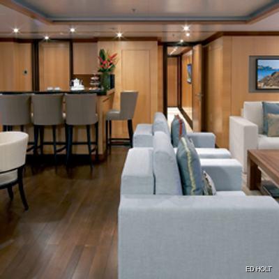 Andreas L Yacht Upper Salon - Close