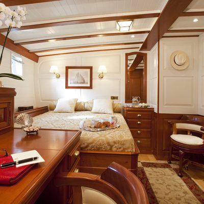 Elena Yacht Master Stateroom