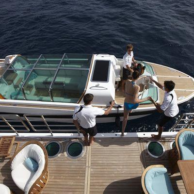 Pegasus VIII Yacht Tender Alongside