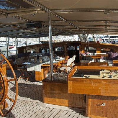 Athos Yacht Flydeck