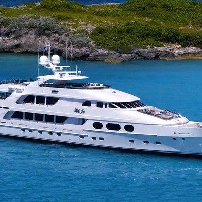 Lady Joy Yacht Side View