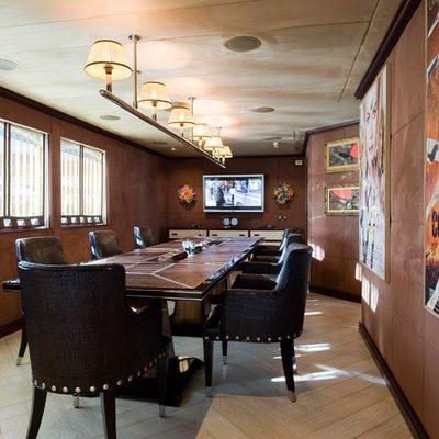 Force Blue Yacht Meeting Room - Main Deck Port