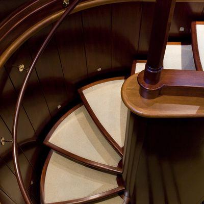 Blush Yacht Staircase