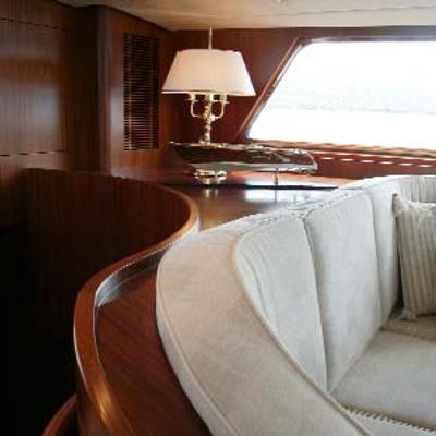 Infatuation Yacht Saloon Detail