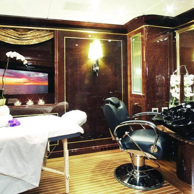 Diamonds Are Forever Yacht Health Spa