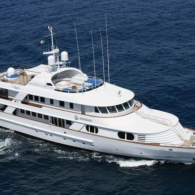 Azul V Yacht Running Shot - Front View