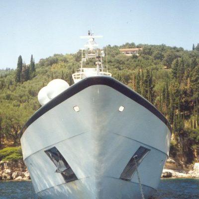 Carmen Fontana Yacht Bow