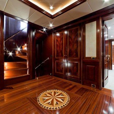 Sophie Blue Yacht Foyer