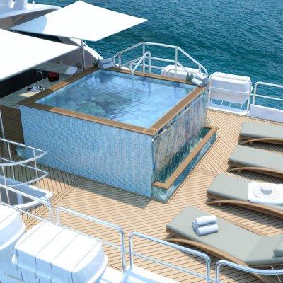 Impromptu Yacht Jacuzzi