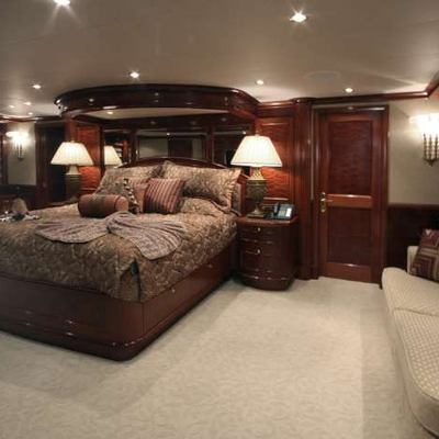 Far From It Yacht Master Stateroom