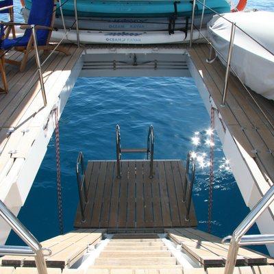 Douce France Yacht Swim Platform