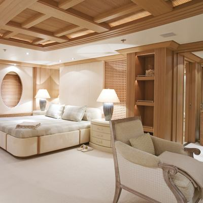 Deja Too Yacht Master Stateroom - Seating