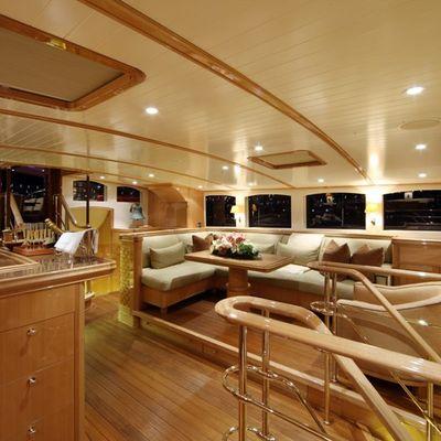 Marie Yacht Portside of Deckhouse