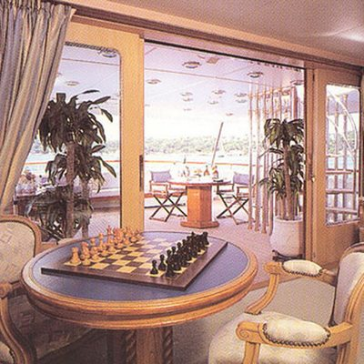 Lady Rose Yacht Interior Seating
