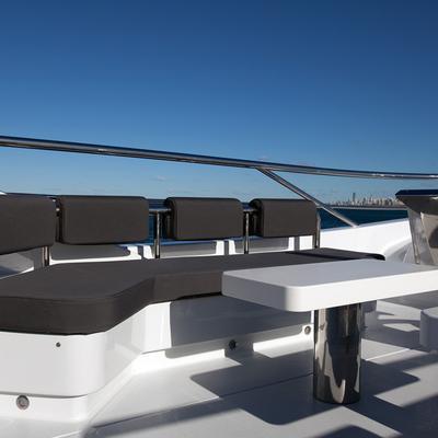 Quantum Yacht Exterior Seating