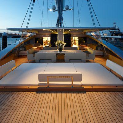 Vertigo Yacht Aft Deck