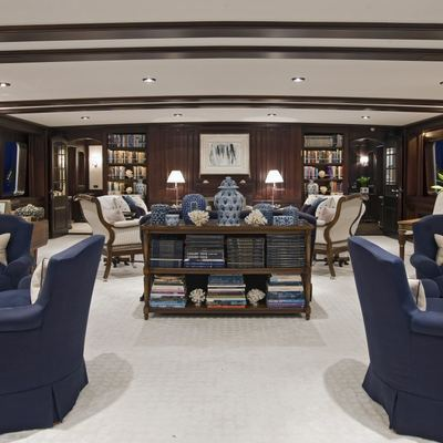 Virginian Yacht Forward Salon - Overview