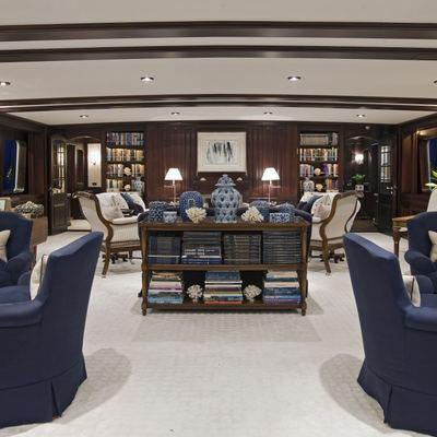 Virginian Yacht Forward Salon - Overview