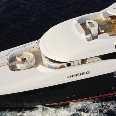 O'Neiro Yacht Aerial View - Deck