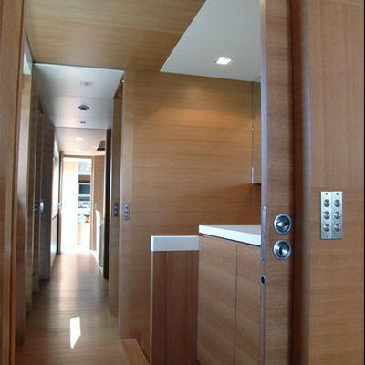 Kintaro Yacht Hallway